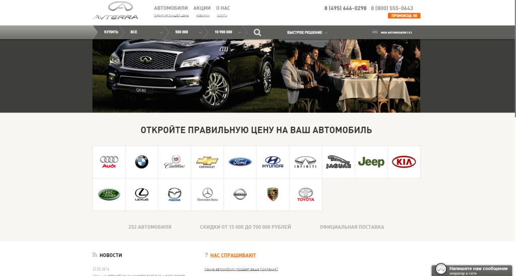 """""""АВТЕРРА"""" - отзывы об автосалоне (AVTERRA, Каширка)"""